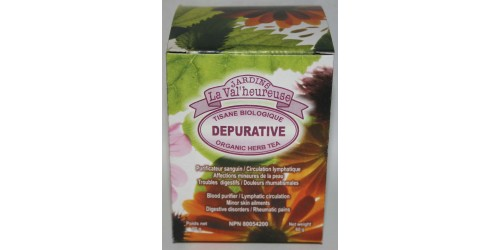 ORGANIC HERB TEA DEPURATIVE