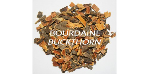 ORGANIC HERBAL TEA BUCKTHORN / Frangula alnus / Bark