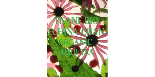 ORGANIC HERB TEA ECHINA-CRAN (bulk / zip bag)