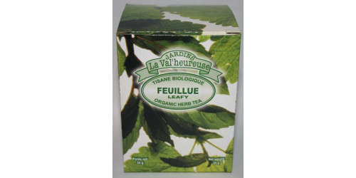 TISANE BIO  FEUILLUE (VRAC, SAC ZIP)